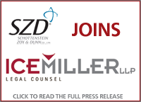 Ice Miller LLP and Schottenstein Zox and Dunn (SZD) Combine