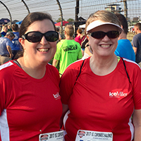 Emily enjoys being part of Ice Miller's team at Indiana Sports Corp's annual Corporate Challenge in Indianapolis.