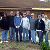 Lynn traveled to New Orleans, LA in 2006 with a group from her local church as part of the efforts of Samaritan's Purse to assist in clean up and rebuilding following Hurricane Katrina