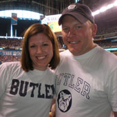 Christina is a graduate of Butler University and is an active member of the alumni association.