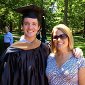A major milestone in my professional development was getting my MBA at Ohio University.  This picture is graduation day with my sister, who got her undergrad degree at OU, so it was extra special.
