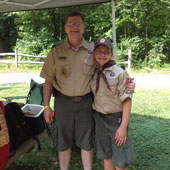 Chris has a life-long involvement with the Boy Scouts of America