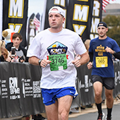 Robert participating in the 2019 Army 10 Miler.