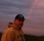 Found a husband at the end of this rainbow.