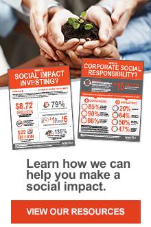 Learn how we can help you make a social impact. View our resources.