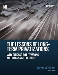 Cover of The Lessons of Long-Term Privatizations