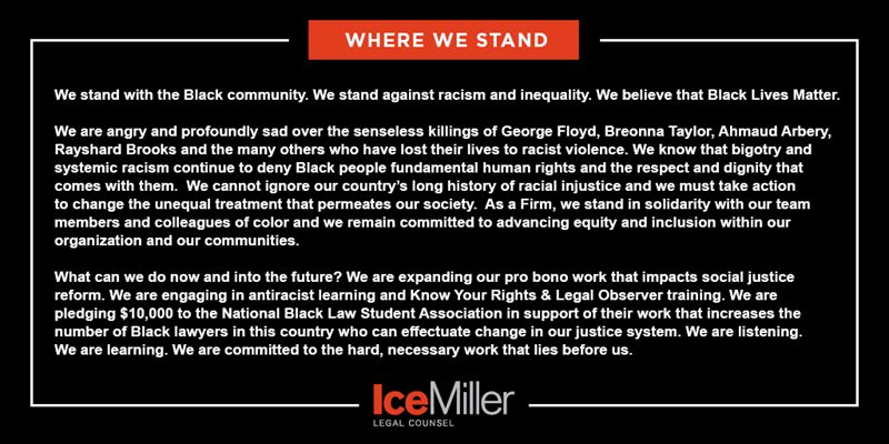 Thumbnail image for Where We Stand: Our Statement on Racial Injustice